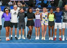 Zvezdniki tenisa na dobrodelnem dogodku za Avstralijo zbrali tri milijone evrov