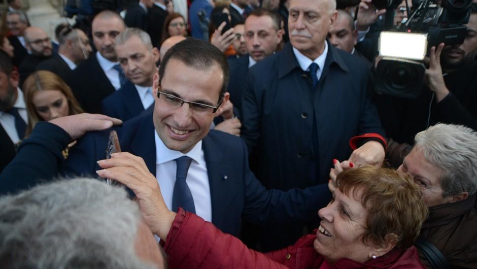 Na malteških ulicah od novega premierja zahtevali pravico za umorjeno novinarko (foto: profimedia)
