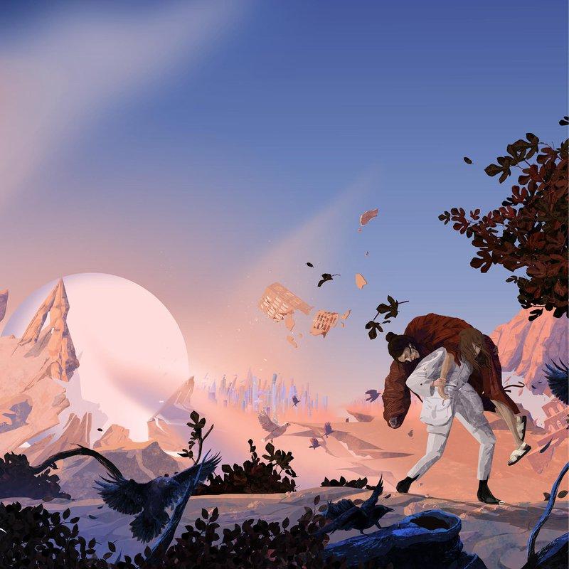Avtor naslovne ilustracije albuma je Jure Brglez, za končno vizualno podobo pa sta poskrbela Ajda Zupančič in Matija Medved.