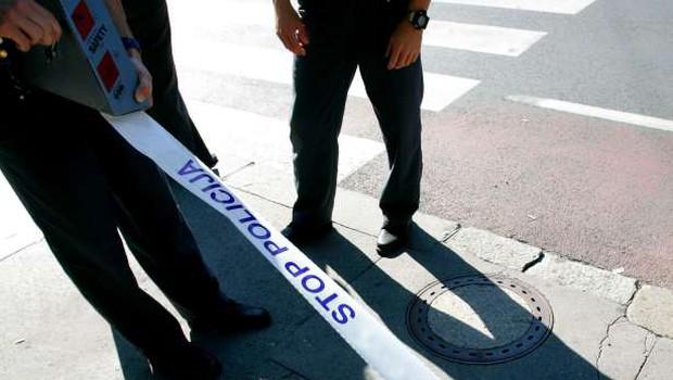 Streljanje v Grosuplju: Ubil nosečo 27-letnico in ustrelil še sebe! (foto: STA)