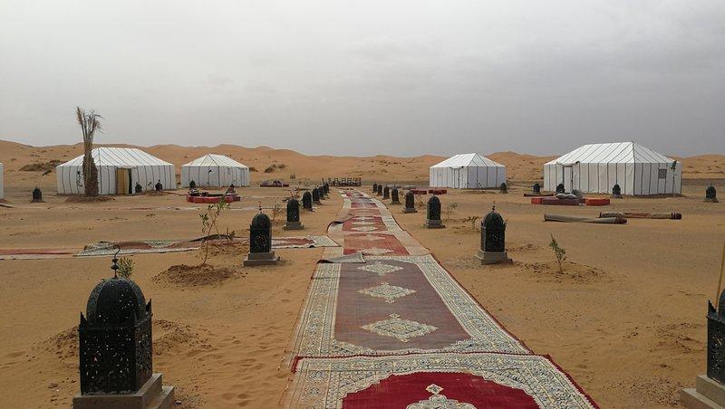 Glamping v puščavi Erg Chebbi