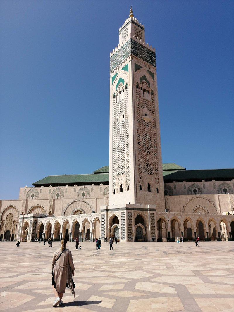 Casablanca, mošeja Hasana II.