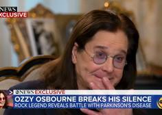 Ozzy Osbourne razkril, da se bori s Parkinsonovo boleznijo