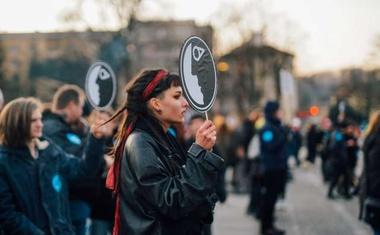Protestniki zahtevajo ohranitev šole za oblikovanje v Križankah