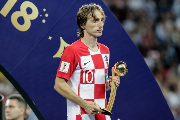 Luka Modrić: »To bi moral biti najsrečnejši trenutek v moji karieri, a ni bil.« (foto: profimedia)