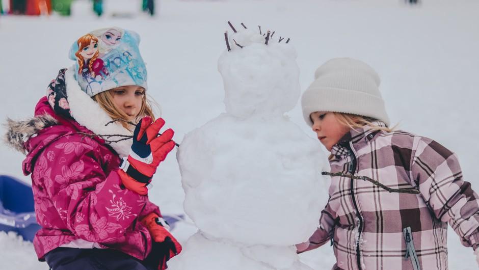 Zimske počitnice 2020: Kam z otroki na družinski oddih v Sloveniji? (foto: Unsplash.com)