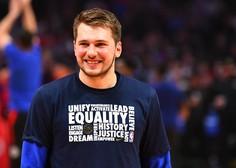 Luka Dončić kot prvi Slovenec v prvi peterki na tekmo zvezd