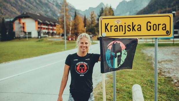 """Ultratekačica Rea Kolbl: """"Tekma največkrat poteka v meni, ne tam zunaj"""" (foto: Marko Delbello Ocepek)"""
