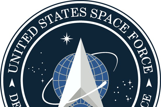 Znak ameriških vesoljskih sil spominja na Zvezdne steze