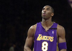 Umrl košarkarski zvezdnik Kobe Bryant