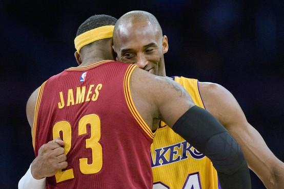 LeBron James z ganljivim zapisom na Instagramu o smrti Bryanta