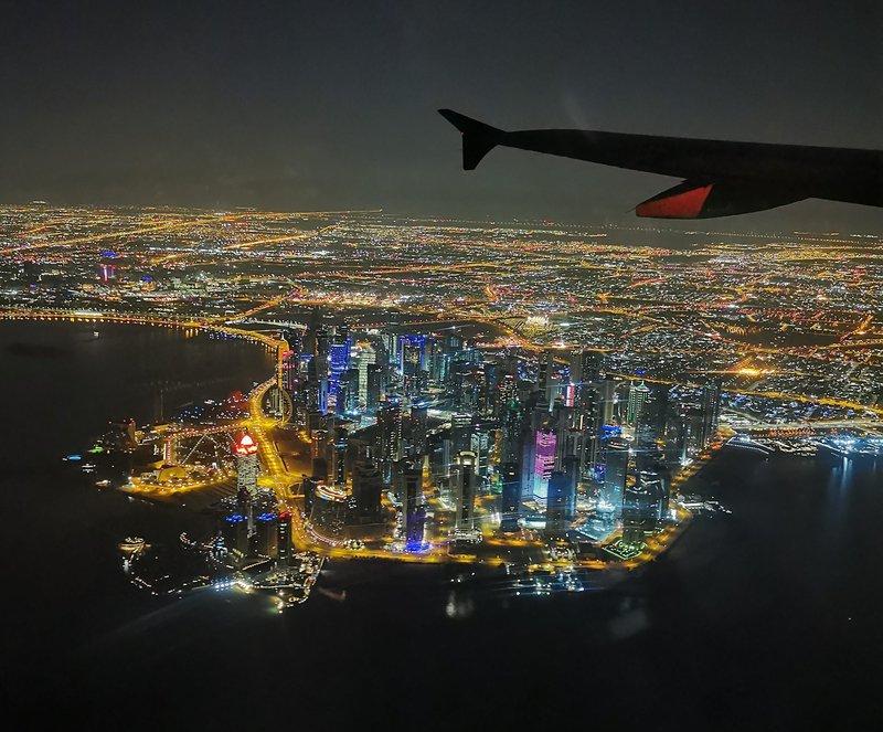 Pogled na Doho, Katar