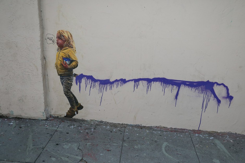 Razstava Banksy - A Visual Protest v Rimu! (foto: profimedia)