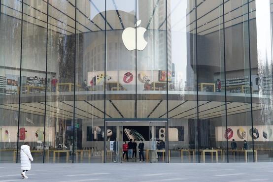 Apple zaradi novega virusa zaprl trgovine na Kitajskem