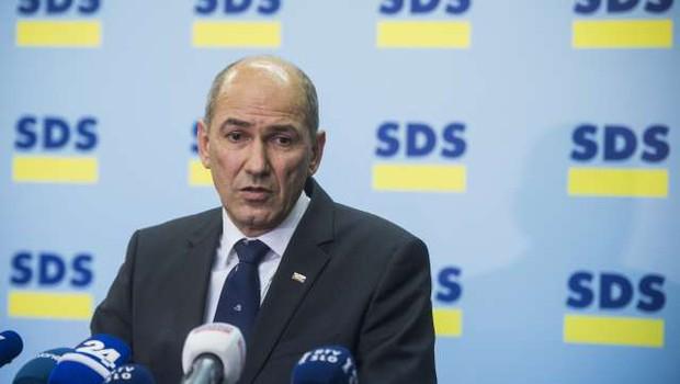 SDS vabi stranke na pogovore o novi koaliciji (foto: Bor Slana/STA)