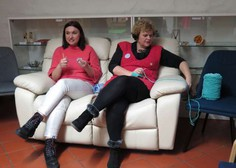 Korošici podrli Guinnessov rekord v kvačkanju