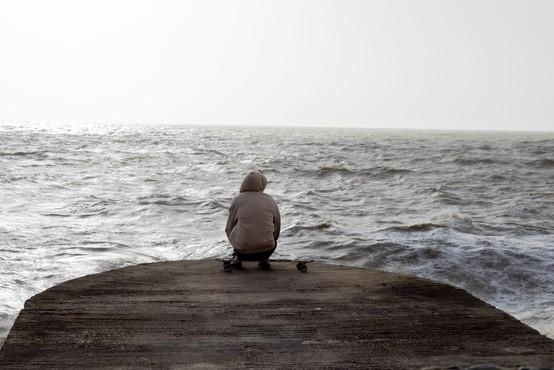 Za hrvaško obalo razglasili rdeči alarm zaradi orkanskega vetra
