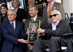 Hollywoodska legenda Kirk Douglas umrl star 103 leta