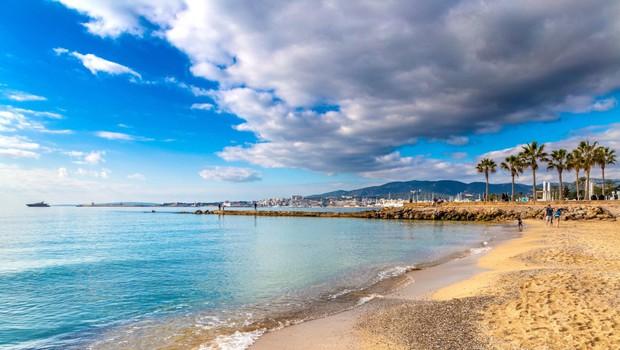 Gloria je opustošila plaže na Majorki, sezona pod vprašajem (foto: profimedia)