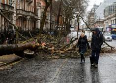 Severni Evropi grozi nevihtna fronta, ki naj bi močno ohromila prometne zveze