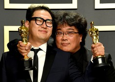 Oskarja za najboljši film osvojila satirična grozljivka Parazit