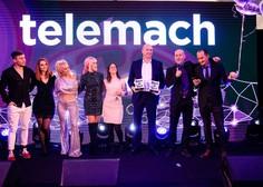 Telemach certifikat za najboljše mobilno omrežje po uporabniški izkušnji proslavil v družbi glasbenih zvezd