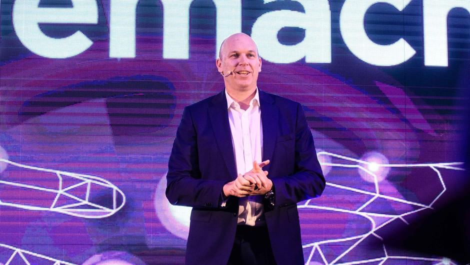 VIDEO: Adrian Ježina (Telemach) o nagradi za najboljše omrežje po uporabniški izkušnji (foto: Sandi Fišer in Grega Valančič)