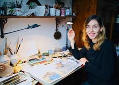 """Hana Stupica: """"Knjige z ilustracijami mame in babice kot otrok nisem toliko brala!"""""""