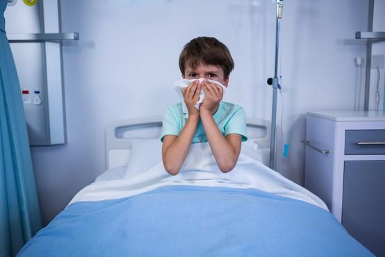 Na Hrvaškem več kot 20.000 obolelih z gripo, večinoma otrok