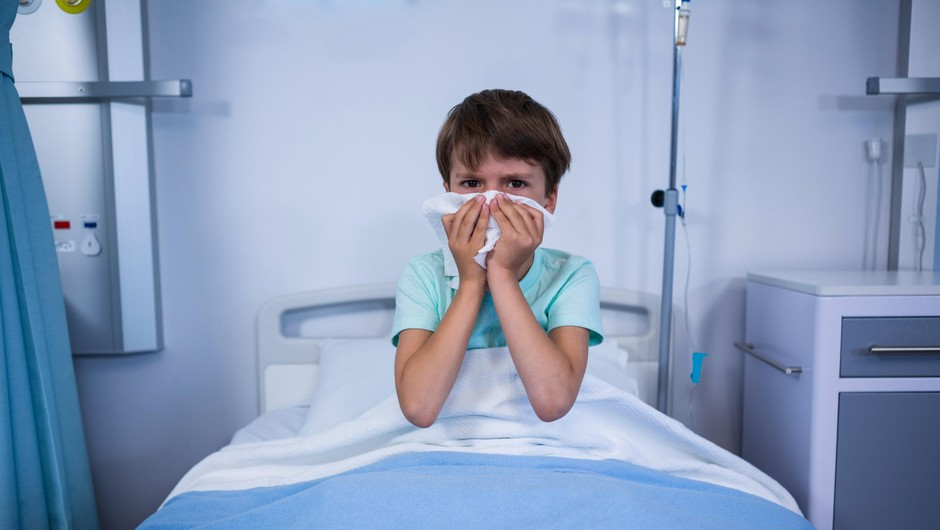 Na Hrvaškem več kot 20.000 obolelih z gripo, večinoma otrok (foto: profimedia)