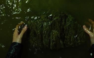 Ljudje množično obiskujejo snemalne lokacije filma Parazit