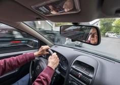Si predstavljate, da na avtocesti zagledate avto, ki drvi naravnost proti vam?