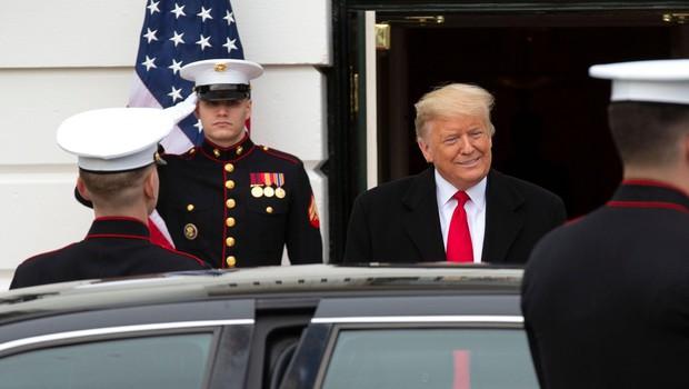 Trump jemlje vojski 3,8 milijarde dolarjev za zid na meji z Mehiko (foto: profimedia)