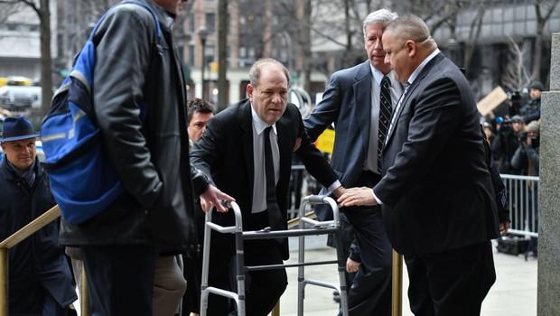 Sklepna nagovora v sodnem procesu proti Harveyju Weinsteinu (foto: profimedia)