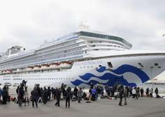 Na ladji za križarjenje v Jokohami več kot 500 okuženih s koronavirusom