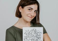 Maruša Žemlja: Ilustratorka, ki riše z eno samo potezo