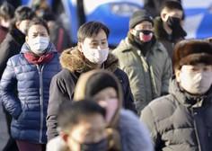Na Kitajskem že več kot 2000 smrtnih žrtev, na Japonskem izkrcavajo potnike