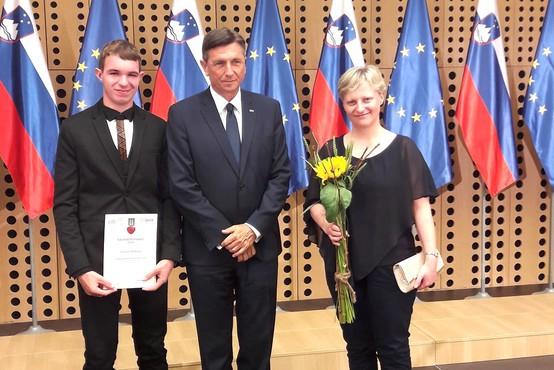 """Ivan Praznik (naj dijak leta): """"Kmetija mi predstavlja užitek. Tam je vse, kar si želim"""""""