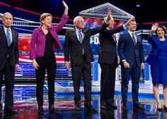 Vroče soočenje demokratskih kandidatov v Las Vegasu