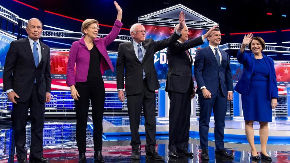 Vroče soočenje demokratskih kandidatov v Las Vegasu (foto: profimedia)