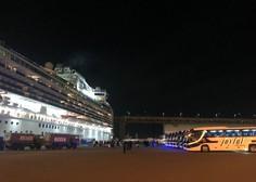 Na Japonskem umrla potnika z ladje za križarjenje