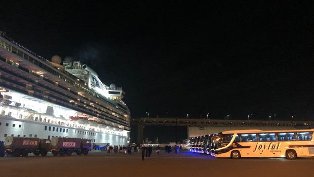 Na Japonskem umrla potnika z ladje za križarjenje (foto: profimedia)