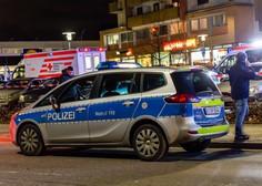 V nemškem mestu Hanau v dveh streljanjih umrlo 11 ljudi