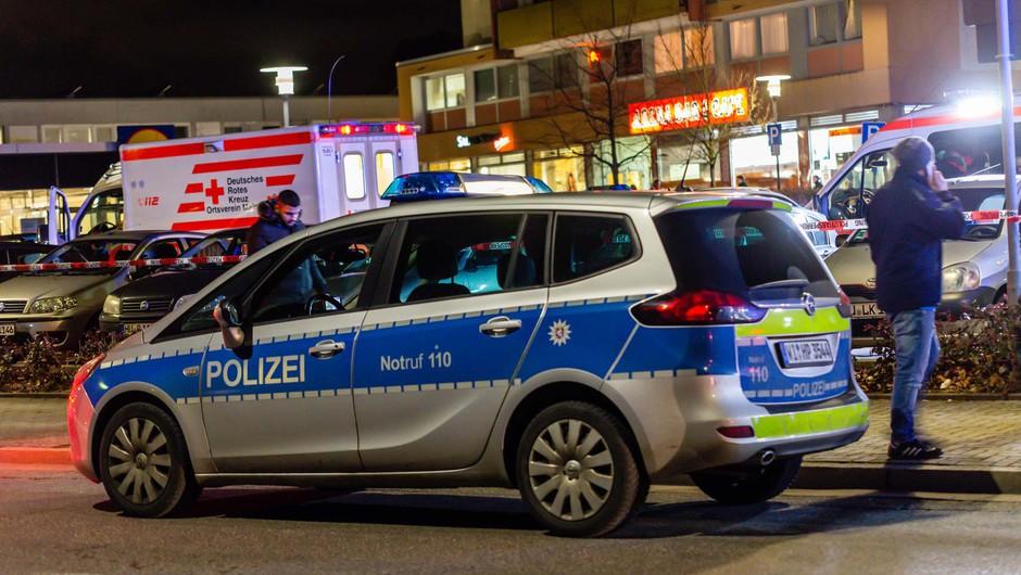 V nemškem mestu Hanau v dveh streljanjih umrlo 11 ljudi (foto: profimedia)