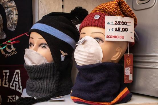 Italijan, ki ni bil na Kitajskem, se je okužil z novim koronavirusom