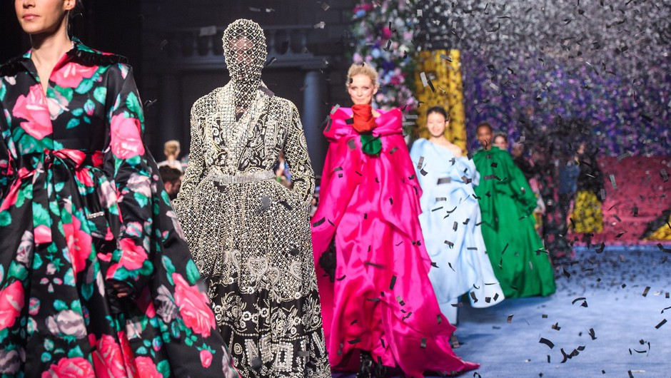 Najbolj odmevni modni reviji z modnega tedna v Londonu (po mnenju urednice Elle.si) (foto: Profimedia)