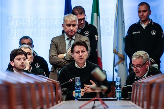 Italija: 11 mest v Lombardiji in Benečiji v  karanteni