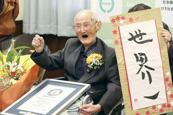 Na Japonskem pri 112 letih umrl uradno najstarejši moški na svetu