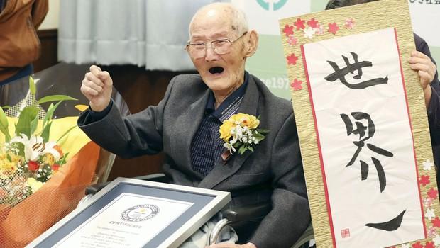 Na Japonskem pri 112 letih umrl uradno najstarejši moški na svetu (foto: profimedia)