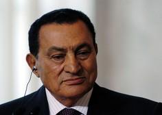 Umrl je nekdanji egiptovski predsednik Hosni Mubarak